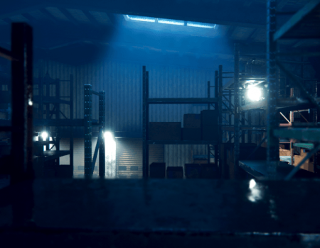 Warehouse Interior Environment
