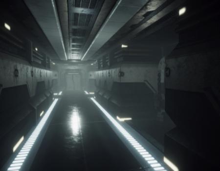 Scifi Corridor Environment